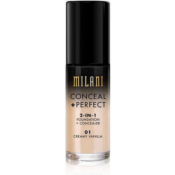 Milani Conceal +Perfect 2-in-1 Foundation #01 Creamy Vanilla