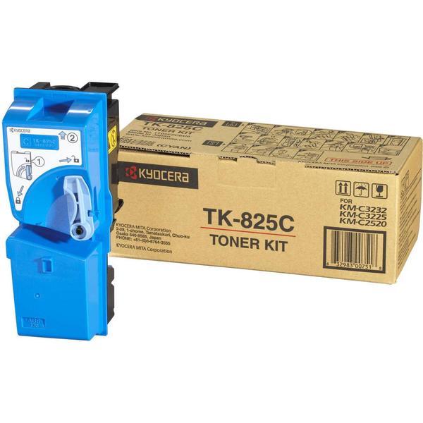 Kyocera (TK-825C) Original Toner Cyan 7000 Sidor