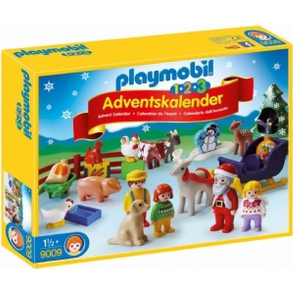 Playmobil 1.2.3 Advent Calendar Christmas on the Farm 2016 9009