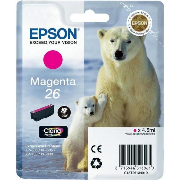 Epson (C13T26134010) Original Bläckpatron Magenta 4.5 ml