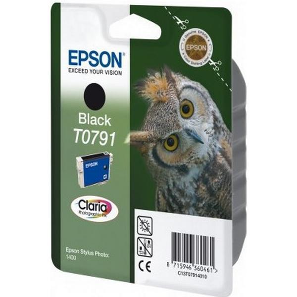 Epson (C13T07914010) Original Bläckpatron Svart 1 ml