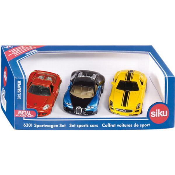 Siku Sportsbiler i Gaveæske 6301