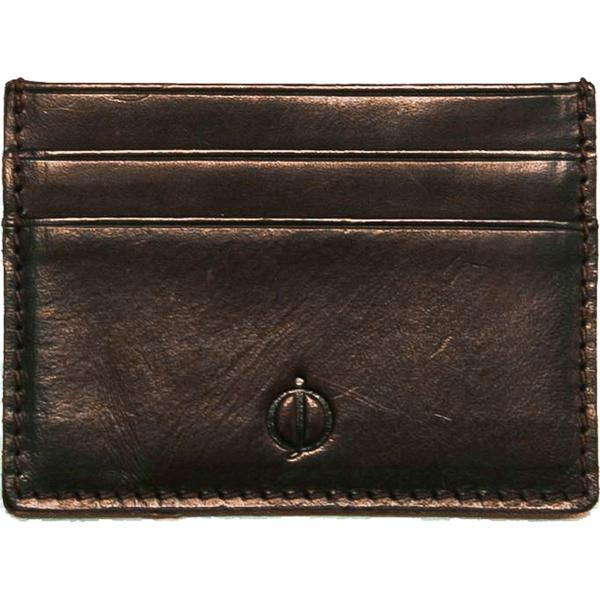Oscar Jacobson Card Holder - Dark Brown (15524.0004)