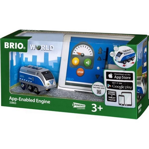 Brio Lokomotiv med APP-styring 33863