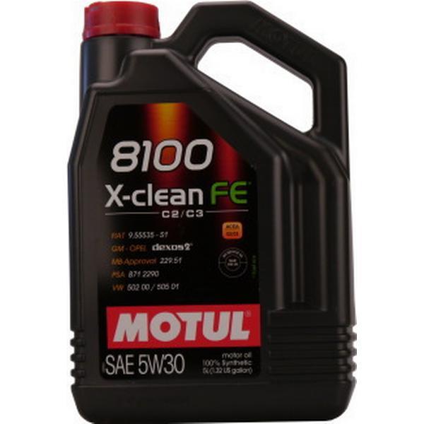 Motul 8100 X-clean FE 5W-30 Motorolie