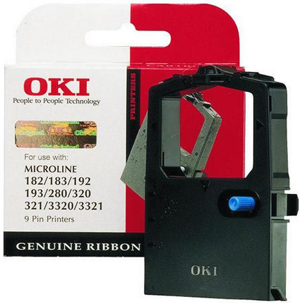 OKI (9002303) Original Färgband Svart 1500 Sidor