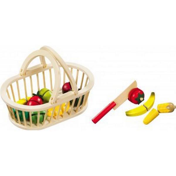 ImageToys Fruit Basket wtih Fruit & 1Knife 11pcs