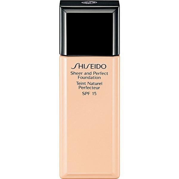 Shiseido Sheer & Perfect Foundation SPF15 #O40 Natural Fair Ochre