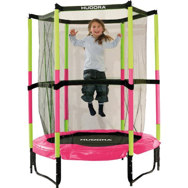 Hudora Jump in Trampoline 140cm + Safety Net