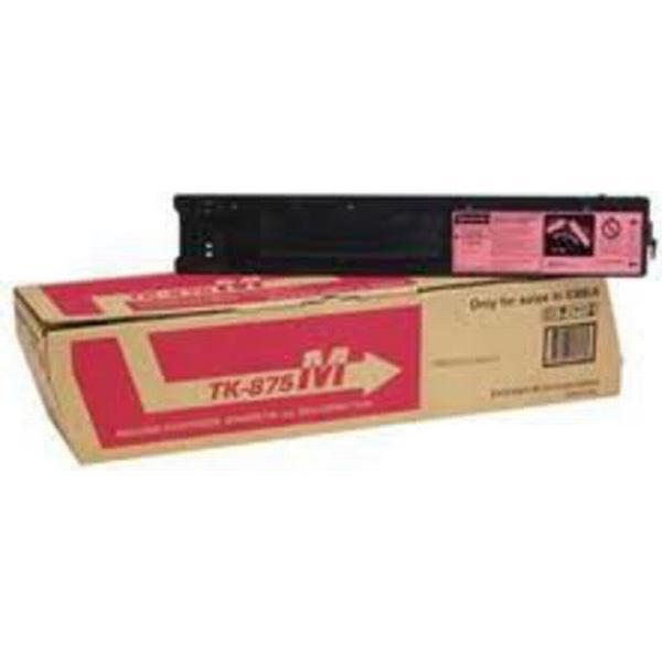 Kyocera (TK-875M) Original Toner Magenta 31800 Sidor