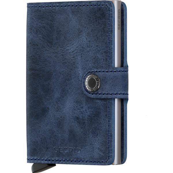 Secrid Mini Wallet - Vintage Blue