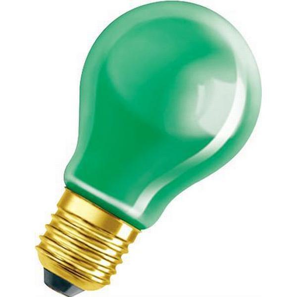 Osram Decor A Green Incandescent Lamps 11W E27