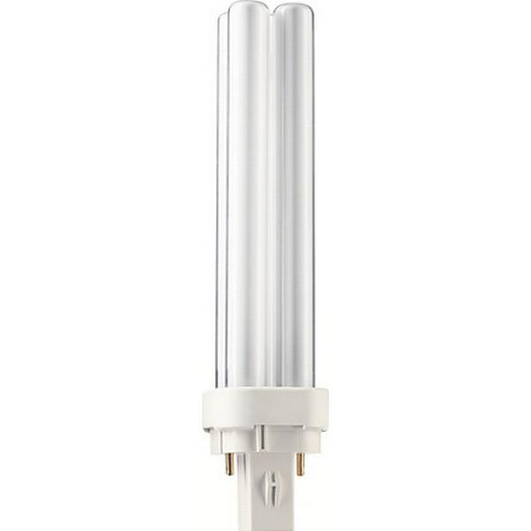 Philips Master PL-C Fluorescent Lamp 18W G24D-2 827