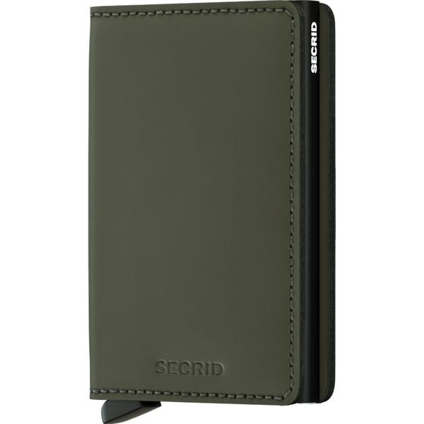 Secrid Slim Wallet - Matte Green