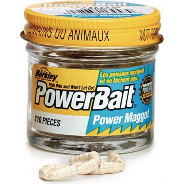 Berkley Powerbait Power Maggot White