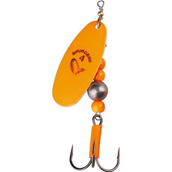 Savage Gear SG Caviar Spinner #4 14g Fluo Orange