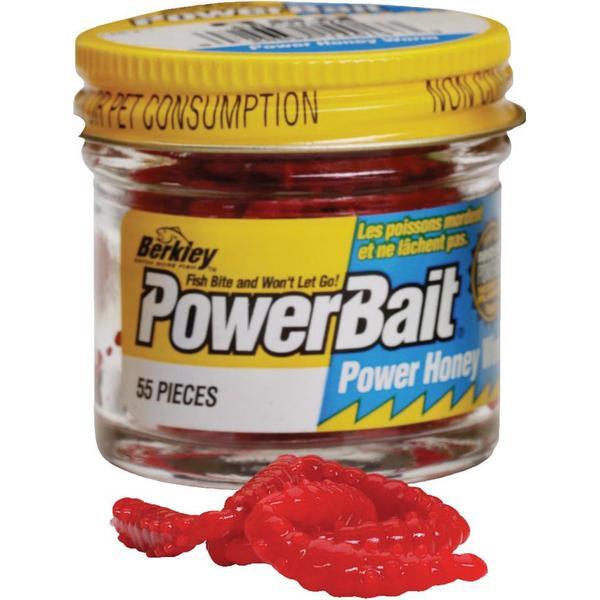 Berkley Powerbait Power Honey Worms Red