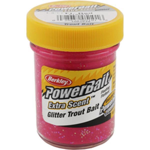 Berkley Powerbait Glitter Trout Bait Fl/Red