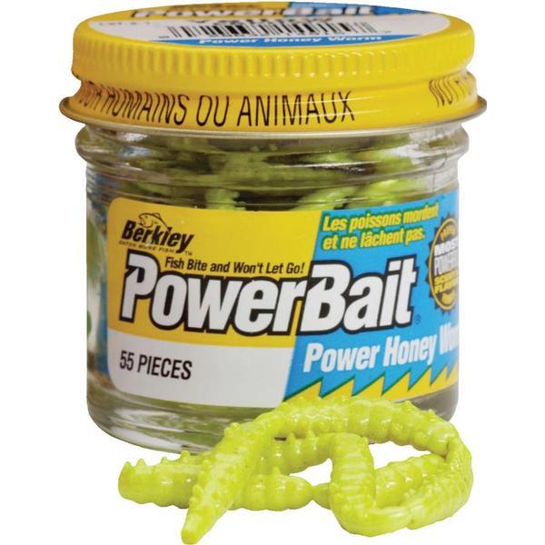 Berkley Powerbait Power Honey Worms Yellow
