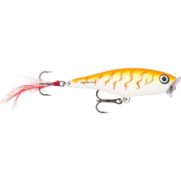 Rapala Skitter Pop 7cm Orange Tiger UV OTU