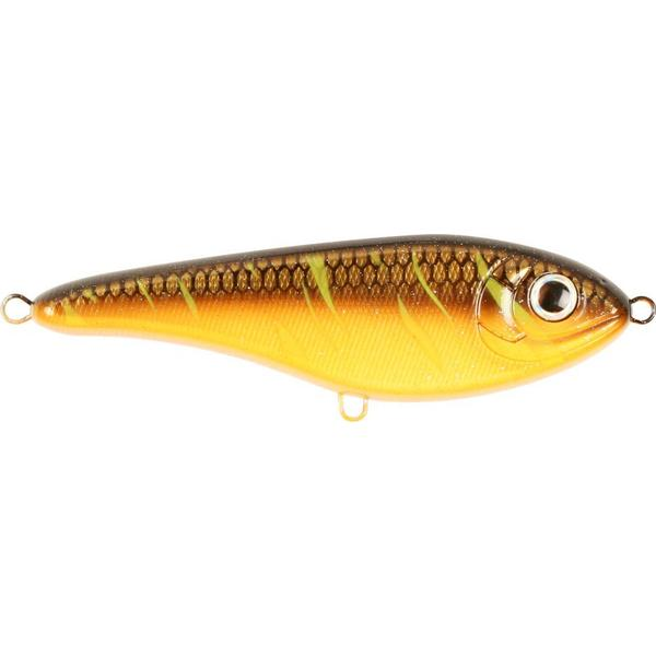 Strike Pro Buster Jerk Shallow Runner 15cm Night Flame