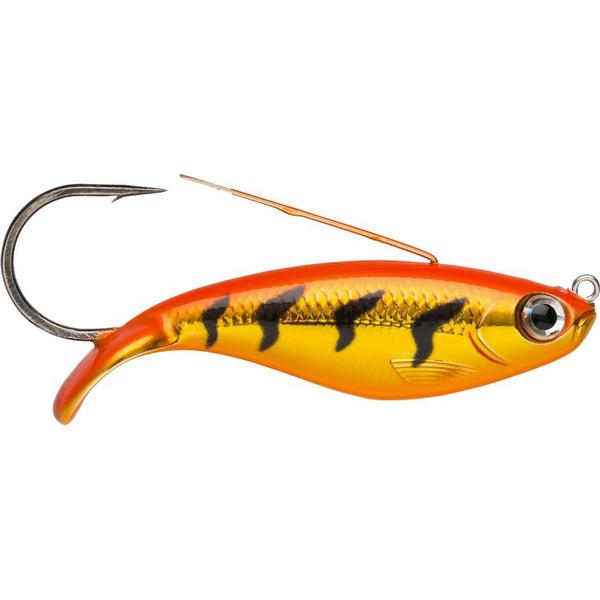 Rapala Weedless Shad 8cm Gold Fluo Red Tiger GFRT
