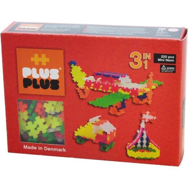 Plus Plus Mini Neon 3 in 1 Building Kit 220pcs