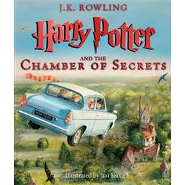 Harry Potter and the Chamber of Secrets: The Illustrated Edition (Harry Potter, Book 2) (Inbunden, 2016)
