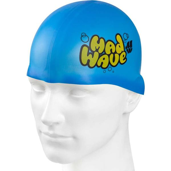Mad Wave Silicone Beanie Jr