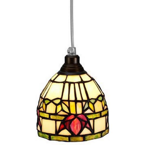 Nostalgia Fuchsia Tiffany Fönsterlampa