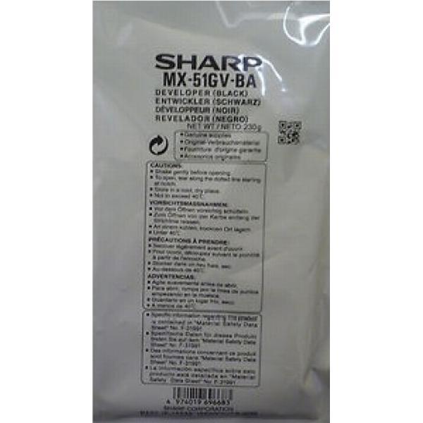Sharp (MX51GVBA) Original Framkallningsenhet Svart 150000 Sidor