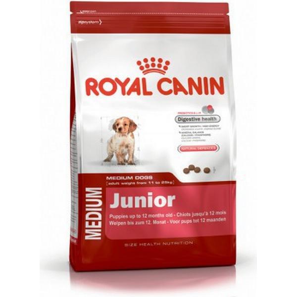 royal canin medium junior 4kg hitta b sta pris recensioner och produktinfo pricerunner. Black Bedroom Furniture Sets. Home Design Ideas