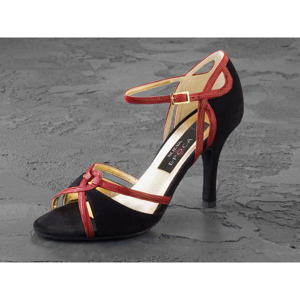 Nueva Epoca 3.5 - Isabel - Black/Red - UK 3.5 Epoca 02f89a