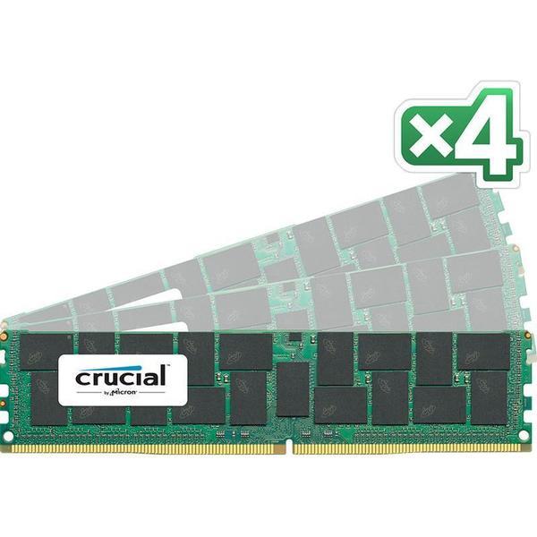 Crucial DDR4 2400MHz 4x8GBGB ECC (CT4K8G4RFS424A)
