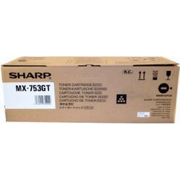 Sharp (MX753GT) Original Toner Svart 83000 Sidor