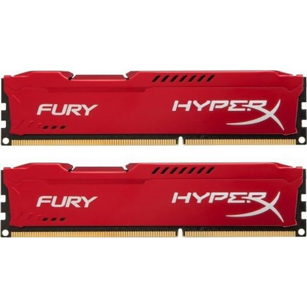 HyperX Fury Red DDR3 1600MHz 2x4GB (HX316C10FRK2/8)