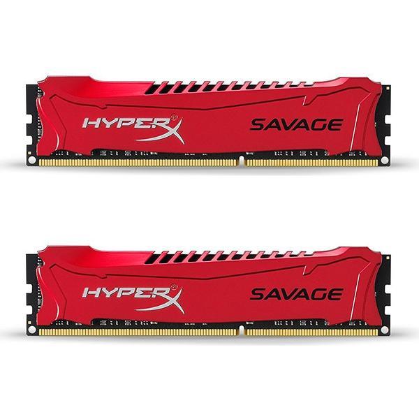 HyperX Savage Red DDR3 1600MHz 2x4GB (HX316C9SRK2/8 )