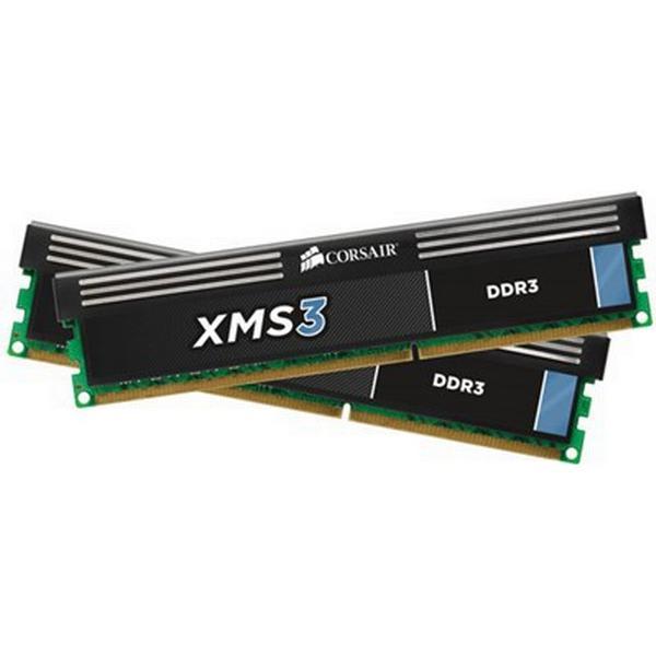 Corsair XMS3 DDR3 1600MHz 2x4GB (CMX8GX3M2A1600C9)