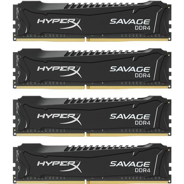 HyperX Savage Black DDR4 2133MHz 4x4GB for Intel (HX421C13SBK4/16)