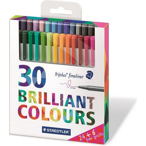 Staedtler Triplus Fineliner Color Pen 30-pack