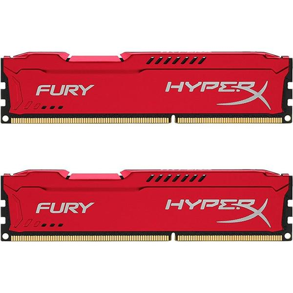 HyperX Fury Red DDR3 1600MHz 2x8GB (HX316C10FRK2/16)