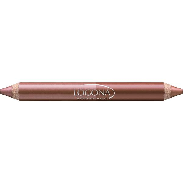 Logona Double Lip Pencil #01 Bronze