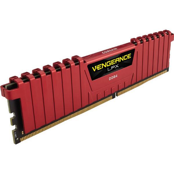 Corsair Vengeance LPX Red DDR4 2400MHz 2x4GB (CMK8GX4M2A2400C14R)