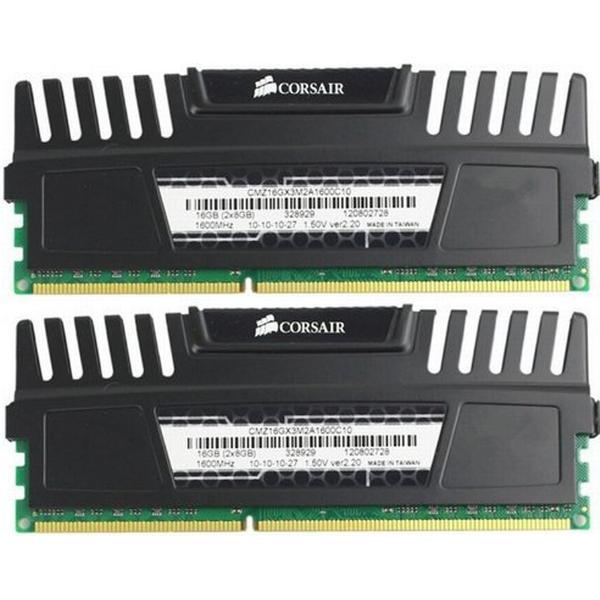 Corsair Vengeance Black DDR3 1600MHz 2x8GB (CMZ16GX3M2A1600C10)