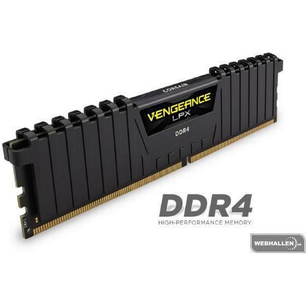 Corsair Vengeance LPX Black DDR4 2133MHz 4x4GB (CMK16GX4M4A2133C13)