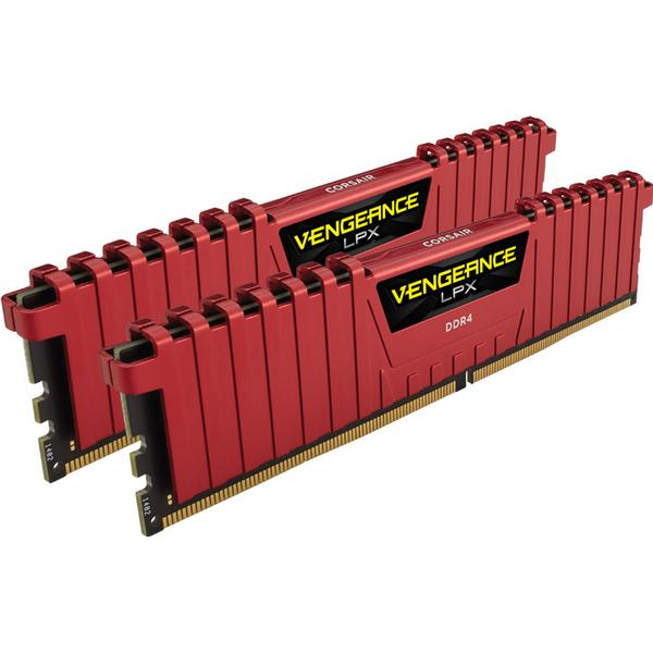 Corsair Vengeance LPX Red DDR4 3200MHz 2x8GB (CMK16GX4M2B3200C16R)