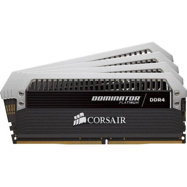 Corsair Dominator Platinum Series Black DDR4 2666MHz 4x4GB (CMD16GX4M4A2666C16)