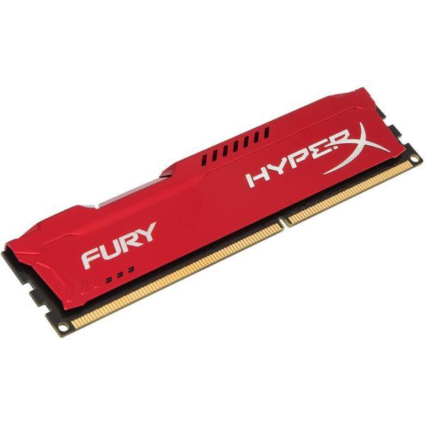 HyperX Fury Red DDR3 1866MHz 2x4GB (HX318C10FRK2/8)
