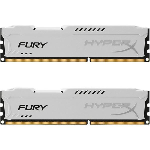 HyperX Fury White DDR3 1600MHz 2x4GB (HX316C10FWK2/8)