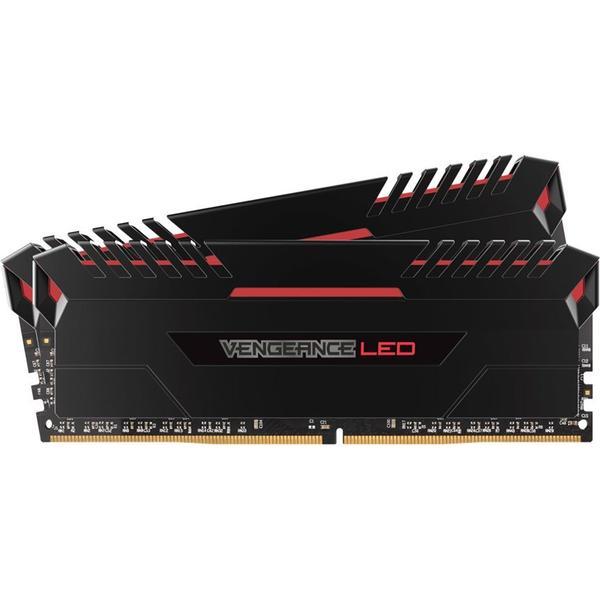 Corsair Vengeance Led Red DDR4 3200MHz 2x8GB (CMU16GX4M2C3200C16R)